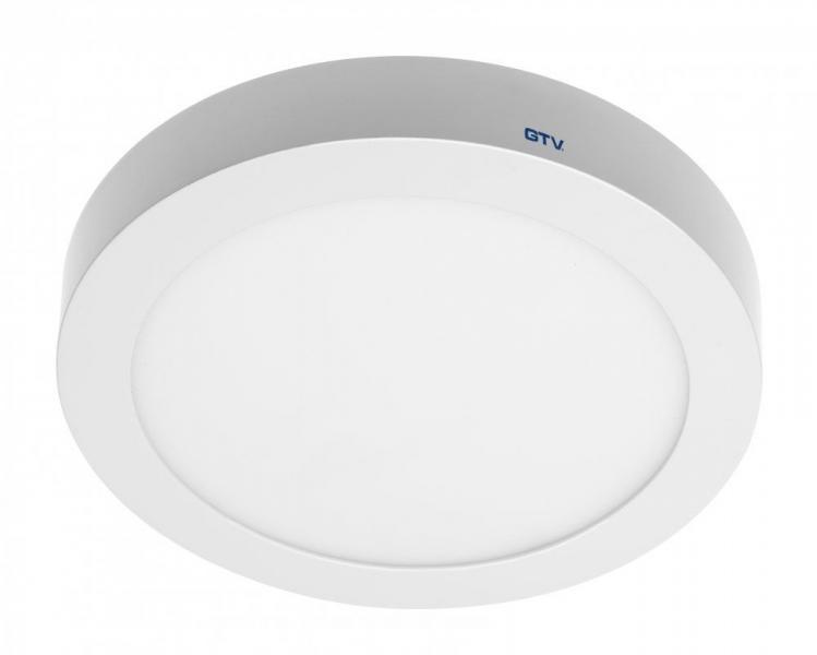 Светодиодный LED светильник GTV, 19W, 3000К, круглый, накладной, IP20, ORIS