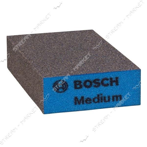 Шлифовальная губка по дереву Bosch Medium (зерно F 180-240)