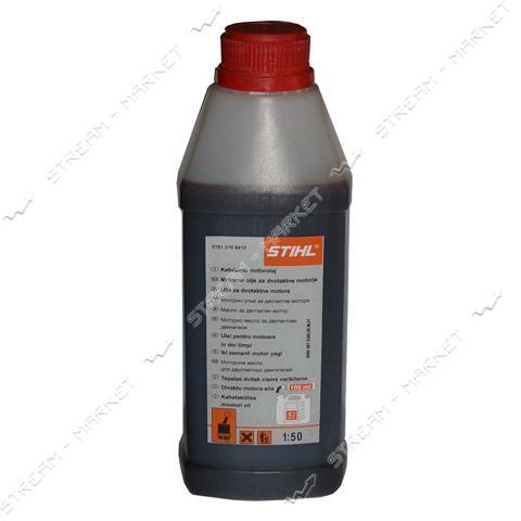 Масло STIHL original (двухтактное) 1литр (квадратная бутылка)