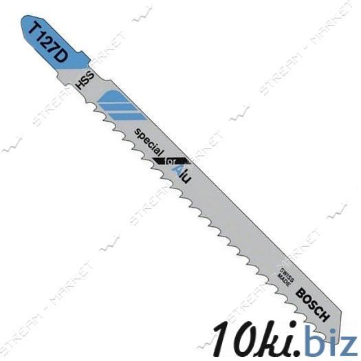 Пилки для эл-лобзика Rebir T127D для твердой и мягкой дер.фанере, ДСП, пластике, оргстекле (цена за 5 ш Пилки для лобзиков на Электронном рынке Украины