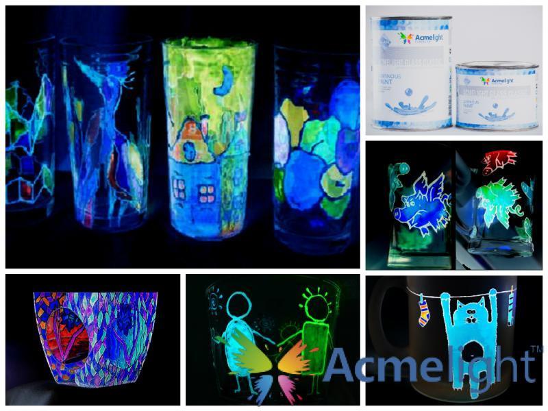 Фото  AcmeLight Glass Classic - краска для стекла (0,75; 1,5 л)