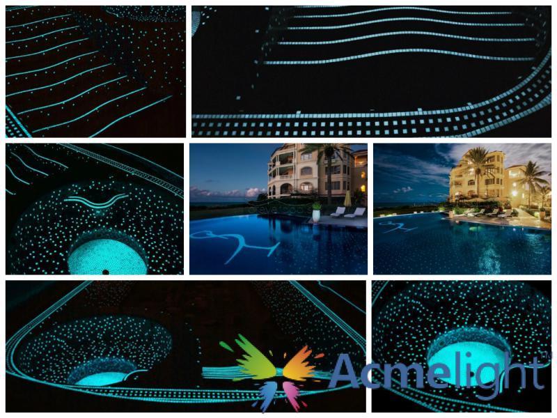 Фото  Acmelight Pool - светящаяся краска для бассейнов (0,75; 1,5 л)
