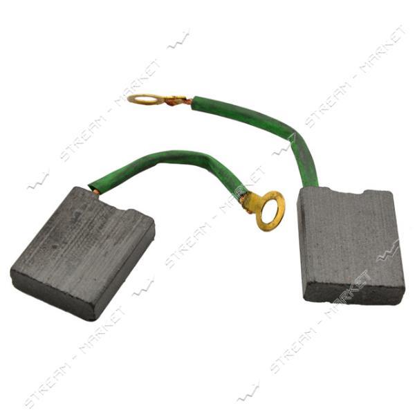 Угольные щетки ЩЭ 5, 5х16х20 без пружины, контакт наконечник-кольцевой, боковой выход . (№15)