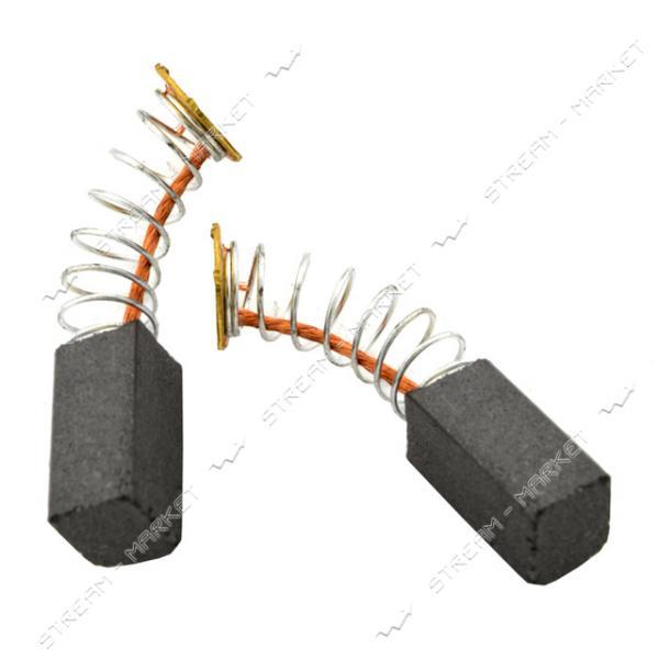 Угольные щетки ЩЭ 5, 5х6, 5х11, 5 пружинные, контакт пятак (№53)
