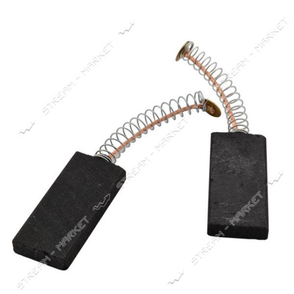 Угольные щетки ЩЭ 5х15х33 пружинные, контакт мал.пятак. (№20)
