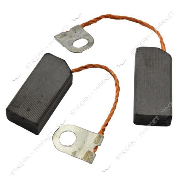 Угольные щетки ЩЭ 6, 3х10х20 без пружины, контакт поводок-флажок. (№22)