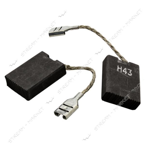 Угольные щетки ЩЭ 6х16х22 без пружины, контакт наконечник-коннектор 'мама', бок. выход (№R1104)