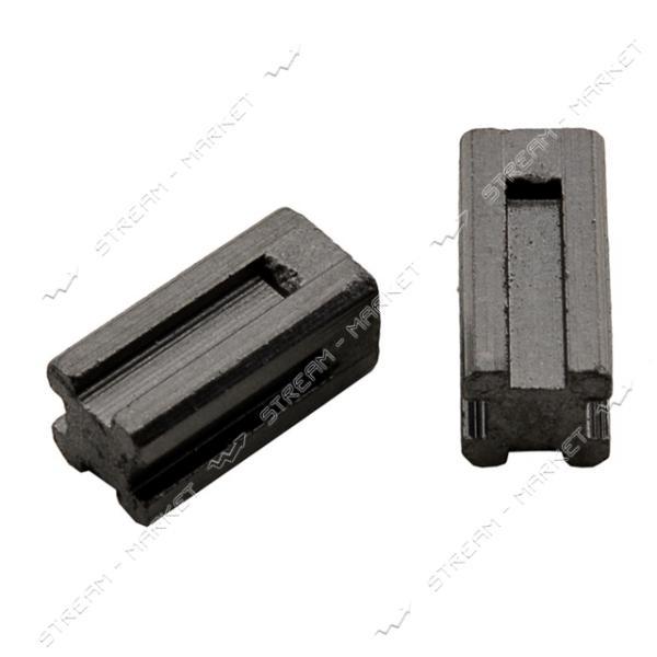 Угольные щетки ЩЭ 6х6х13 без пружины, 4 направляющих (№R1150)