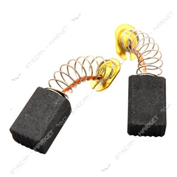 Угольные щетки ЩЭ 6х9х13 пружинные, контакт пятак (№8)