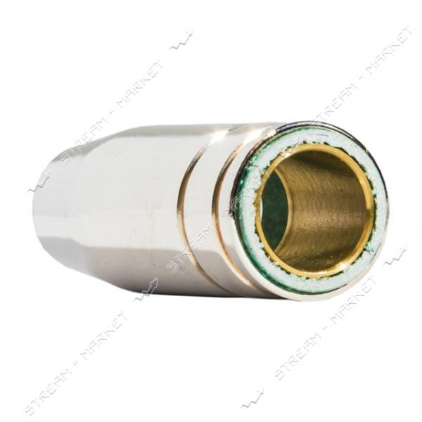 Сопло гладкое медное хромированное МВ-15 для полуавтомата (ES-0005)