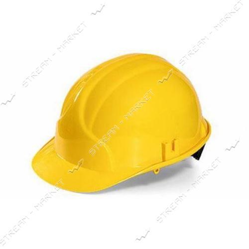Каска строительная Украина, желтая (PK-0001)