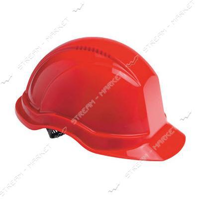 Каска строительная Украина, красная (PK-0003)