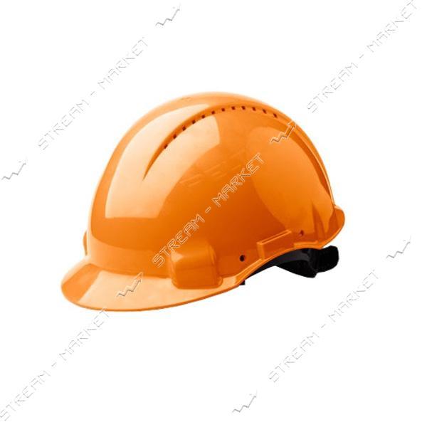 Каска строительная Украина, оранжевая (PK-0002)