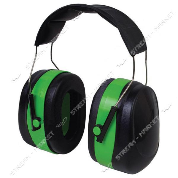 Наушники VITA с шумоподавлением 32 dB, зеленые мягкий наголовник (LN-0003)
