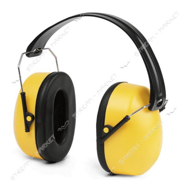 Наушники складные с металлическими дужками, желтые код 0406 (LN-0000)