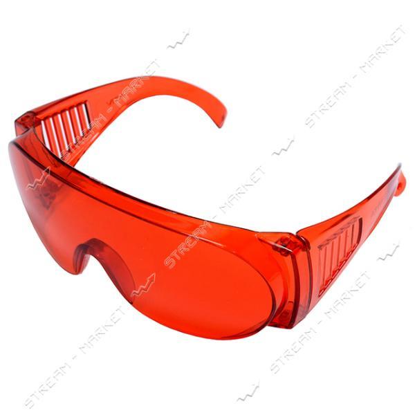 Очки защитные Озон красные