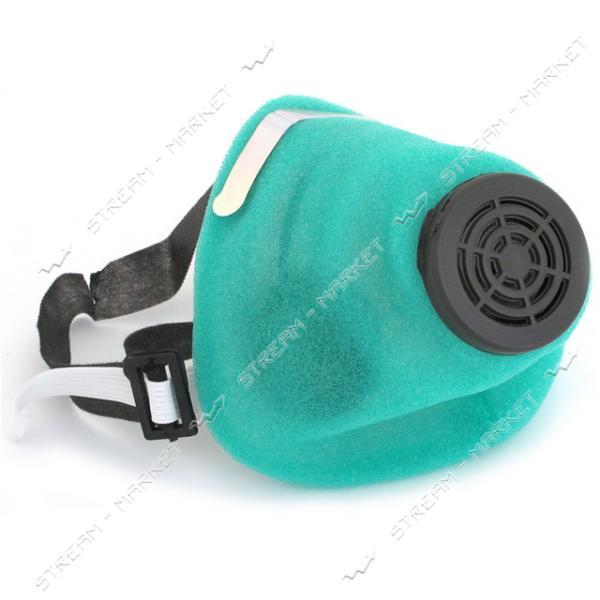 Респиратор У2К флизелин (код-1) голубой или зел.цвет