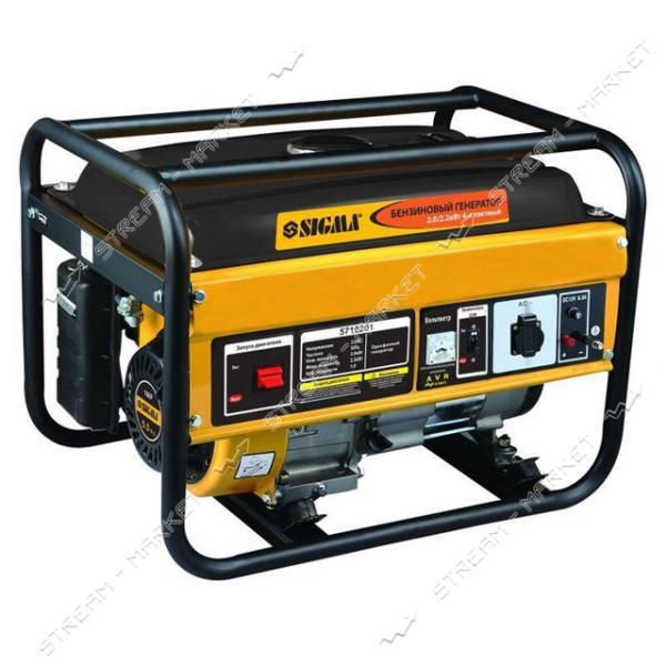 Бензогенератор Sigma 5710201 2.0-2.2 кВт