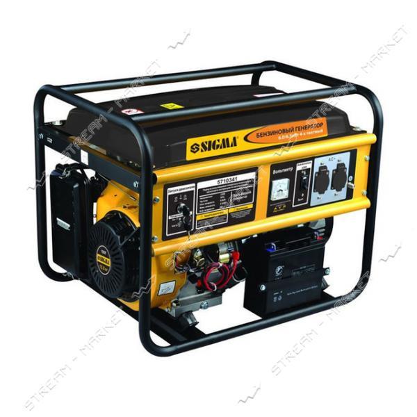 Бензогенератор Sigma 5710341 6.0-6.5 кВт