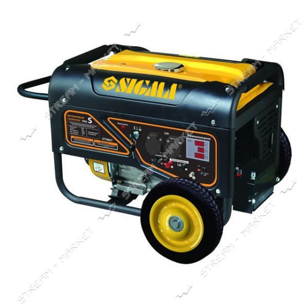 Бензогенератор Sigma Pro-S 5710621 5.0-5.5 кВт