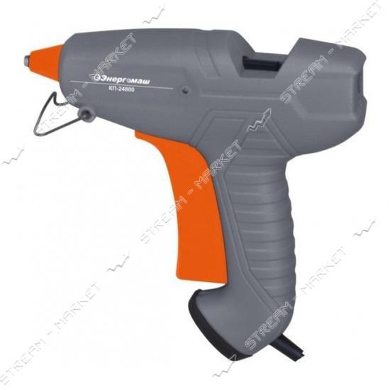 Энергомаш КП24800 Пистолет клеевой 200 Вт., к стержням 11, 2 мм