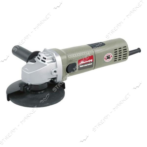 АВАНГАРД Углошлифовальная машина УШМ-125/1001Э, 1, 0 кВт, 125 мм, короткая ручка
