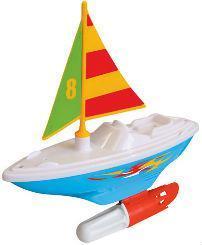 Фото Игрушки под заказ 1-3 дня Развивающая игрушка – ПАРУСНИК (для игры в ванной) от Kiddieland - preschool - под заказ