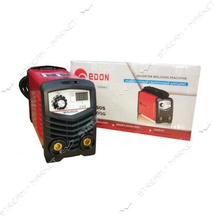Сварочный аппарат инверторный Edon Mini-250S 8, 2кВт, d электр.1, 6-5 мм, 3, 6кг