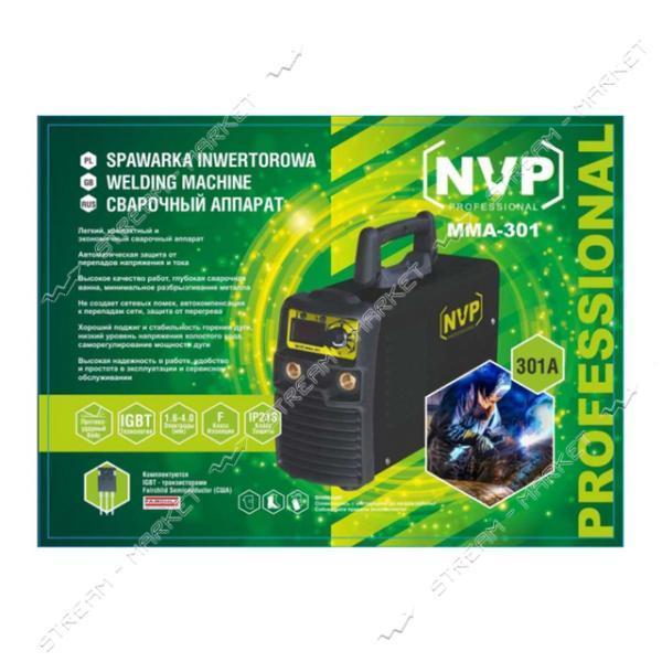 Сварочный аппарат инверторный NVP MMA-301