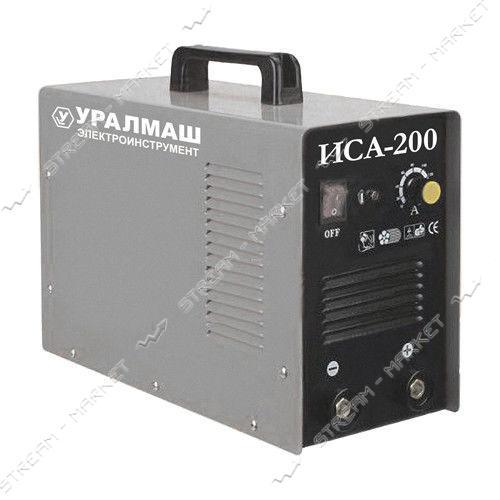 Сварочный аппарат инверторный Уралмаш ИСА200