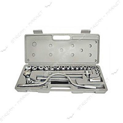 Набор ключей и головок торцевых HT-HERMES TOOLS (30-103) 24 ед.