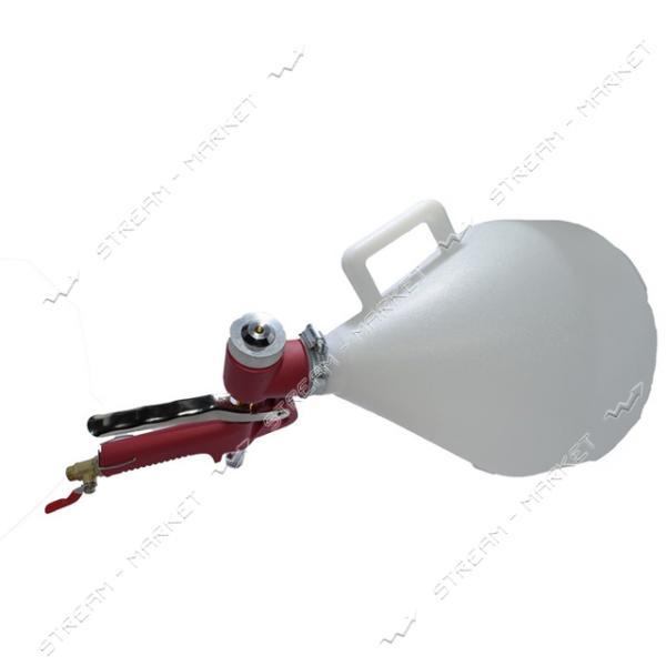 Штукатурный распылитель H-TOOLS 80K402 , 4-8мм, в/б пластик 700мл, 3-6 bar