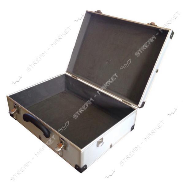 Ящик-кейс для инструментов H-TOOLS 79K220 алюминиевый (455*330*152мм)