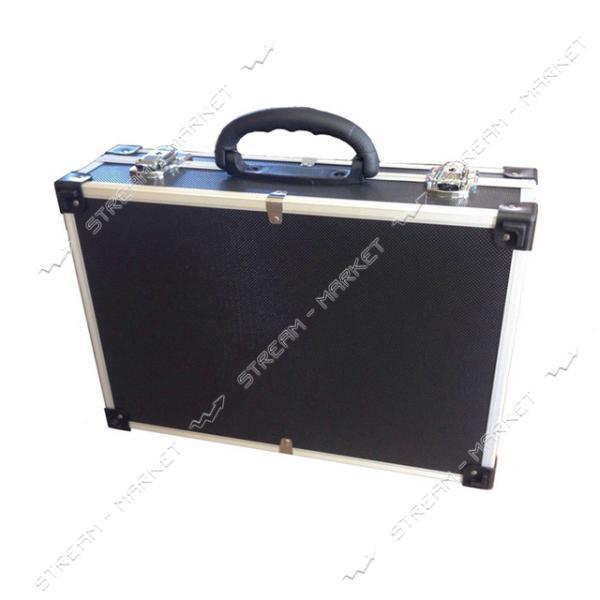 Ящик-кейс для инструментов H-TOOLS 79K221 алюминиевый (425*285*12мм)