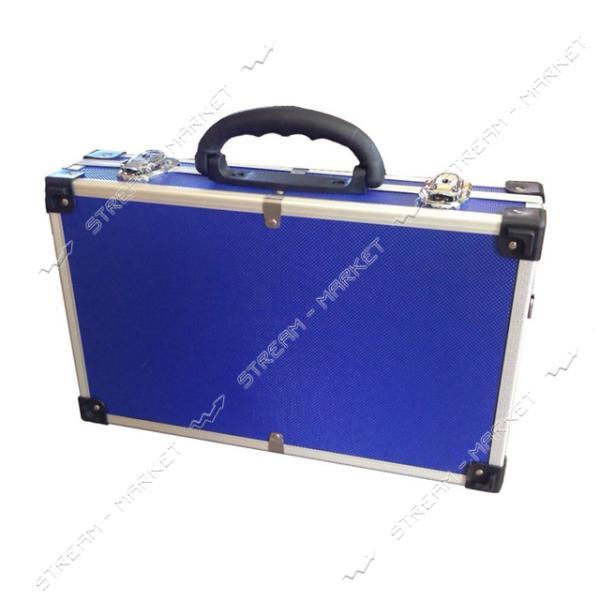 Ящик-кейс для инструментов H-TOOLS 79K222 алюминиевый (395*240*90мм)