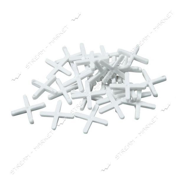 Набор дистанционных крестиков для плитки INTERTOOL HT-0354 4мм/100шт