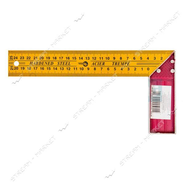 Угольник строительный INTERTOOL MT-2026 250 мм