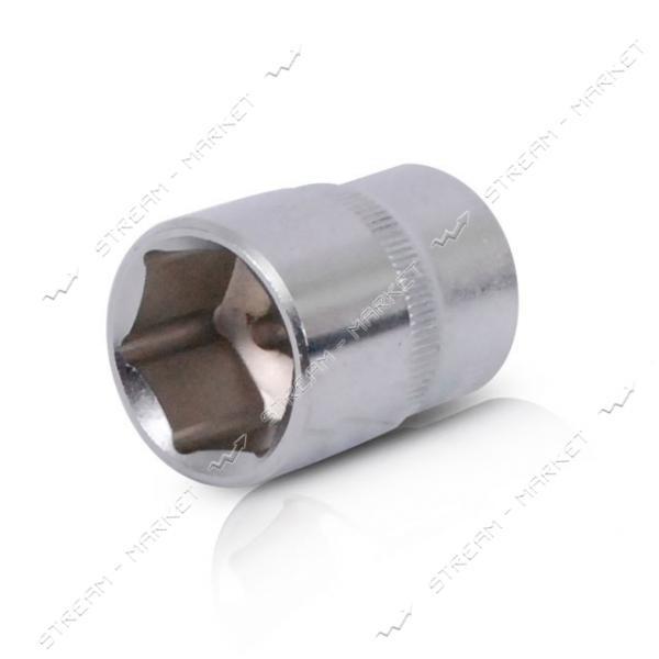 Головка шестигранная INTERTOOL ET-0024 1/2' 24мм * 38мм Хром - Ванадиум
