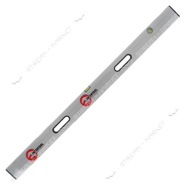 Правило-уровень INTERTOOL MT-2115 150 см, 2 капсулы, вертикальный и горизонтальный с ручками