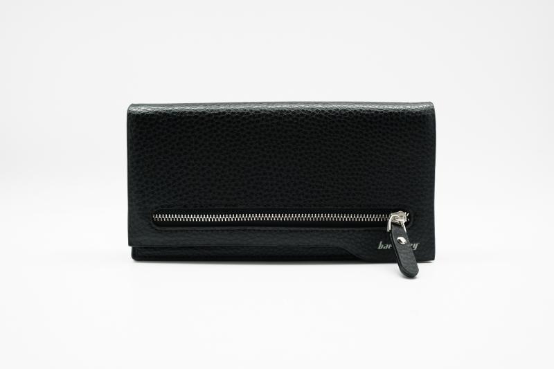Мужской клатч портмоне Baellerry Monaco Черный, коричневый