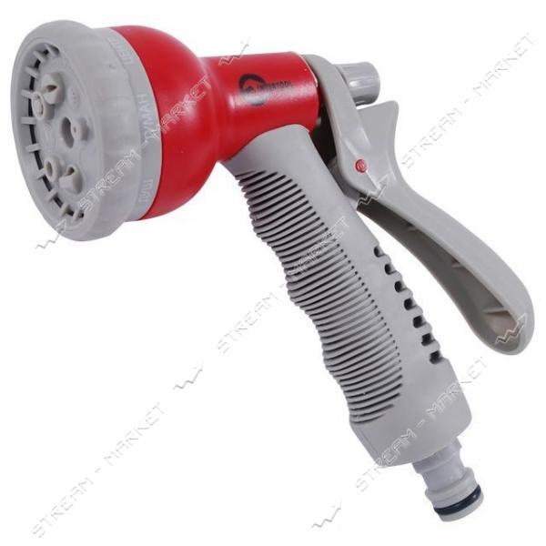 Пистолет-распылитель для полива INTERTOOL GE-0002 8-ми функциональный