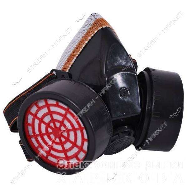 Респиратор с двумя катриджами INTERTOOL SP-0028 - Средства защиты органов дыхания на рынке Барабашова
