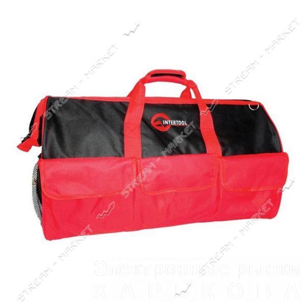 INTERTOOL BX-9004 Сумка для инструментов 26 карманов 610*270*400мм - Ящики, сумки инструментальные на рынке Барабашова