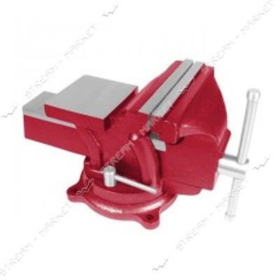 INTERTOOL HT-0051 Тиски слесарные поворотные 100 мм
