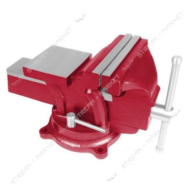 INTERTOOL HT-0052 Тиски слесарные поворотные 125 мм