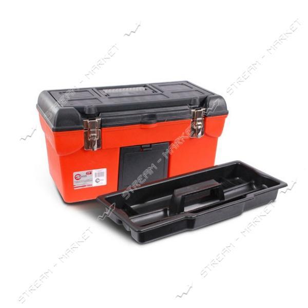 INTERTOOL BX-1119 Ящик для инструмента с металлическими замками 19' (483*242*240 мм)