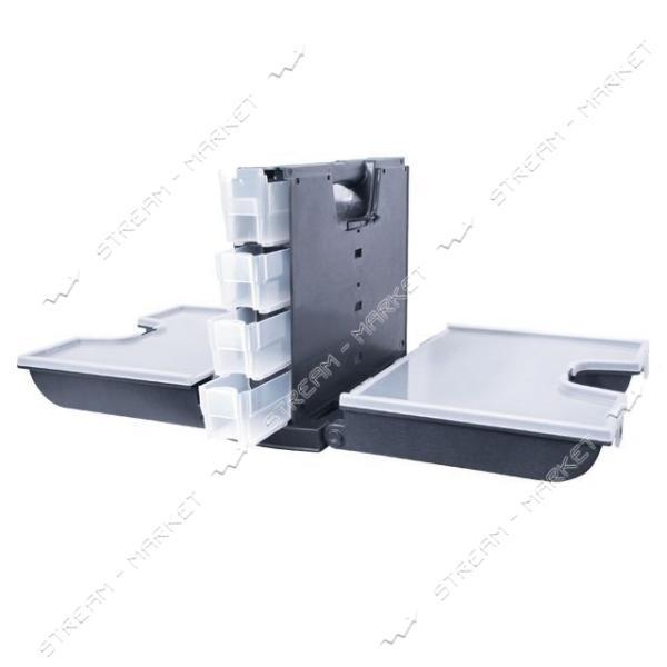 INTERTOOL BX-4014 Ящик инструментальный для метизов 14' (360*290*195 мм)