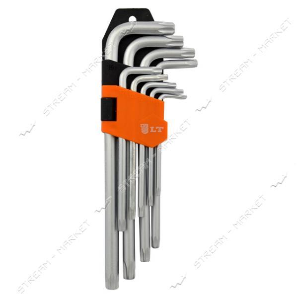 Набор Г-образных шестигранных ключей TORX 9шт LT L-AK-T-001U T10-T51
