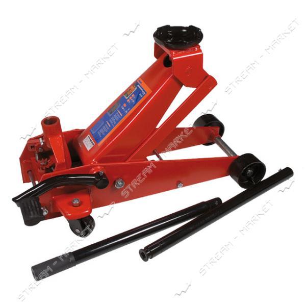 Miol 80-255 Домкрат подкатной 3, 5т, 145-500мм, 38 кг, с педалью
