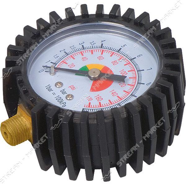 Miol 81-521 Манометр для пневмопистолета для накачивания колес, o 60мм